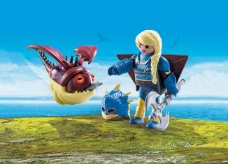 Playmobil - 70041 - Astrid with dragon