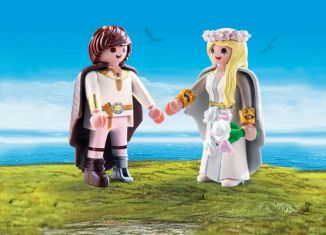 Playmobil - 70045 - Astrid and Hiccup