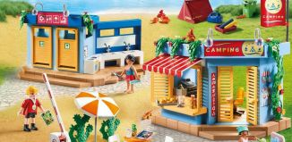 Playmobil - 70087 - Large Campground
