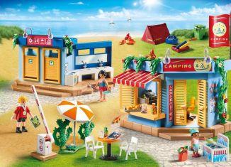 Playmobil - 70087 - Großer Campingplatz