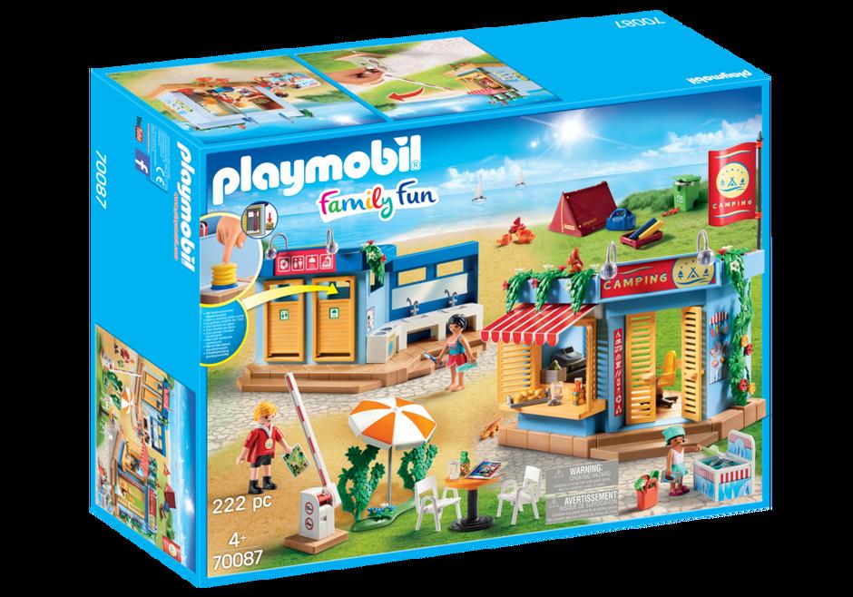 Playmobil 70087 - Großer Campingplatz - Box
