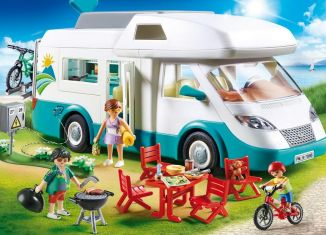Playmobil - 70088 - Familien-Wohnmobil