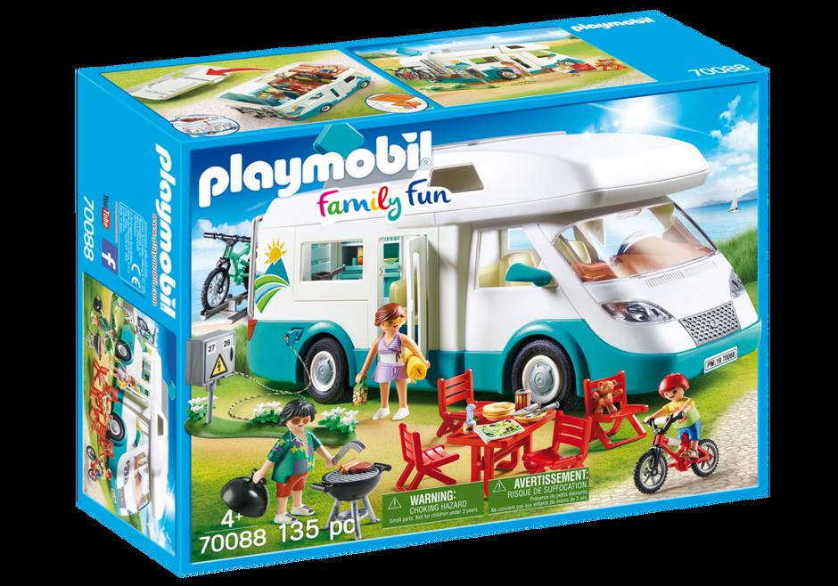 Playmobil 70088 - Familien-Wohnmobil - Box