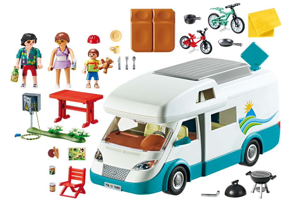 Playmobil 70088 - Familien-Wohnmobil - Back