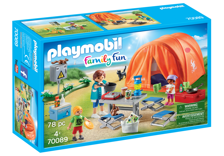 Playmobil 70089 - Family Camping - Box