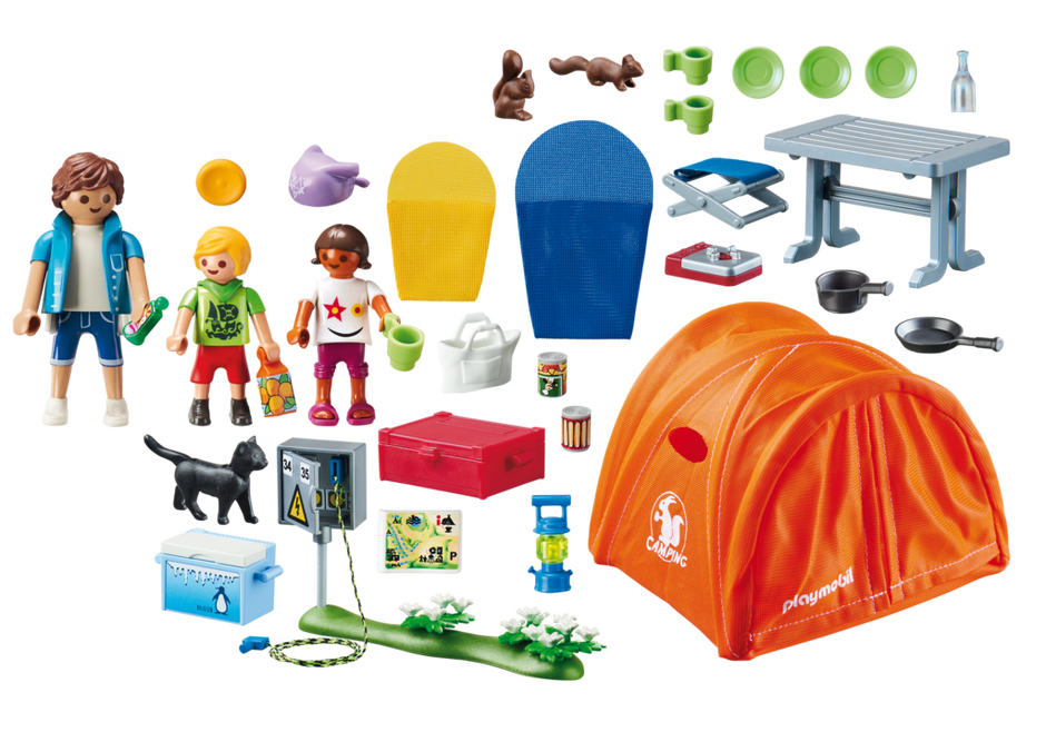 Playmobil 70089 - Family Camping - Back