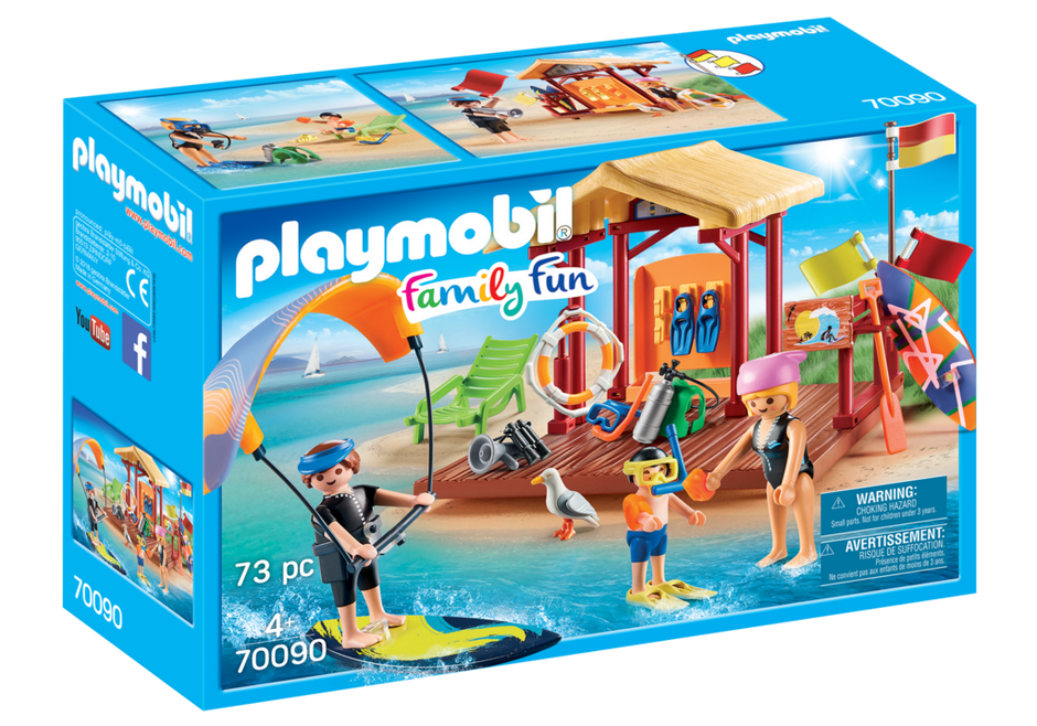 Playmobil 70090 - Wassersport-Schule - Box