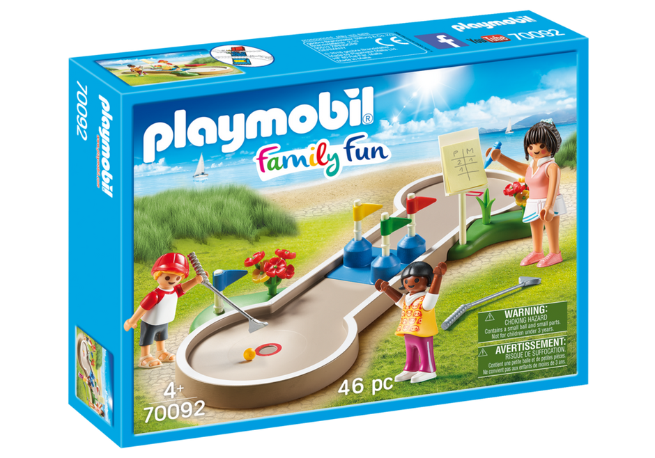 Playmobil 70092 - Minigolf - Box