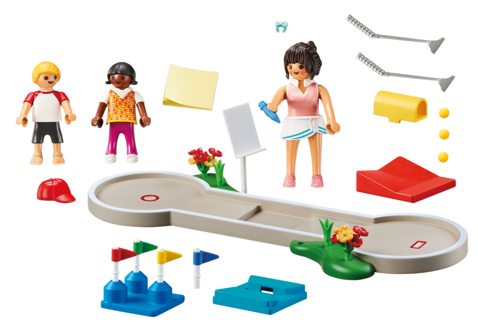 Playmobil 70092 - Minigolf - Back