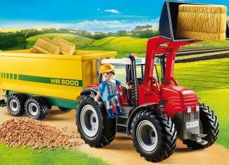 Playmobil - 70131 - Riesentraktor mit Anhänger