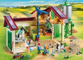 Playmobil - 70132 - Großer Bauernhof mit Silo