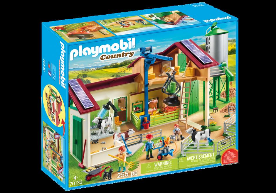 Playmobil 70132 - Großer Bauernhof mit Silo - Box