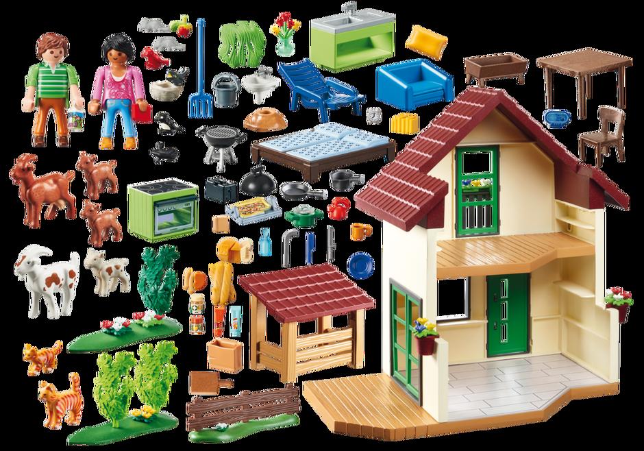 Playmobil 70133 - Bauernhaus - Back