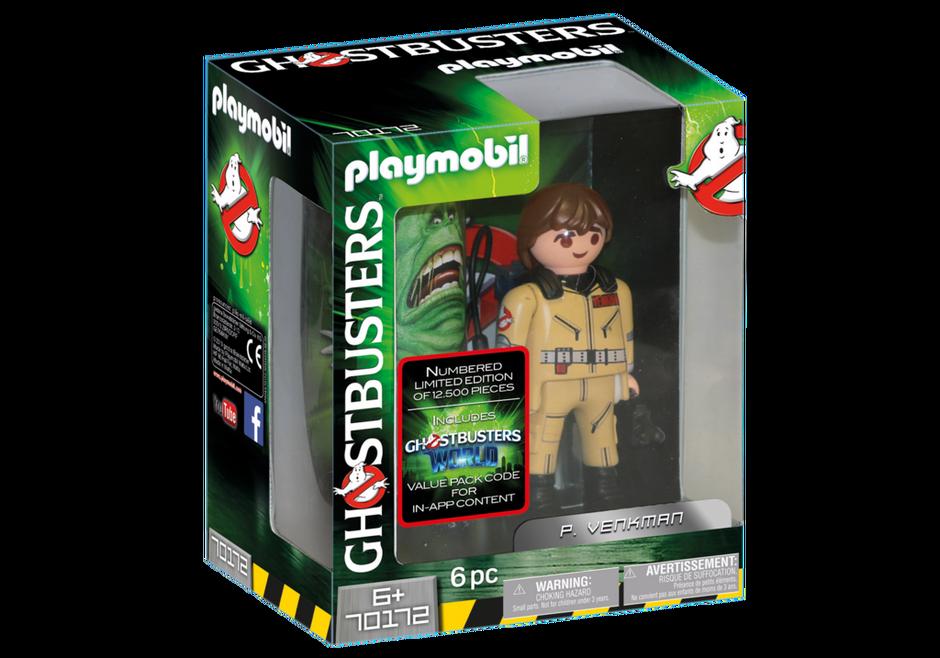 Playmobil 70172 - Ghostbusters™ Sammlerfigur P. Venkman - Box