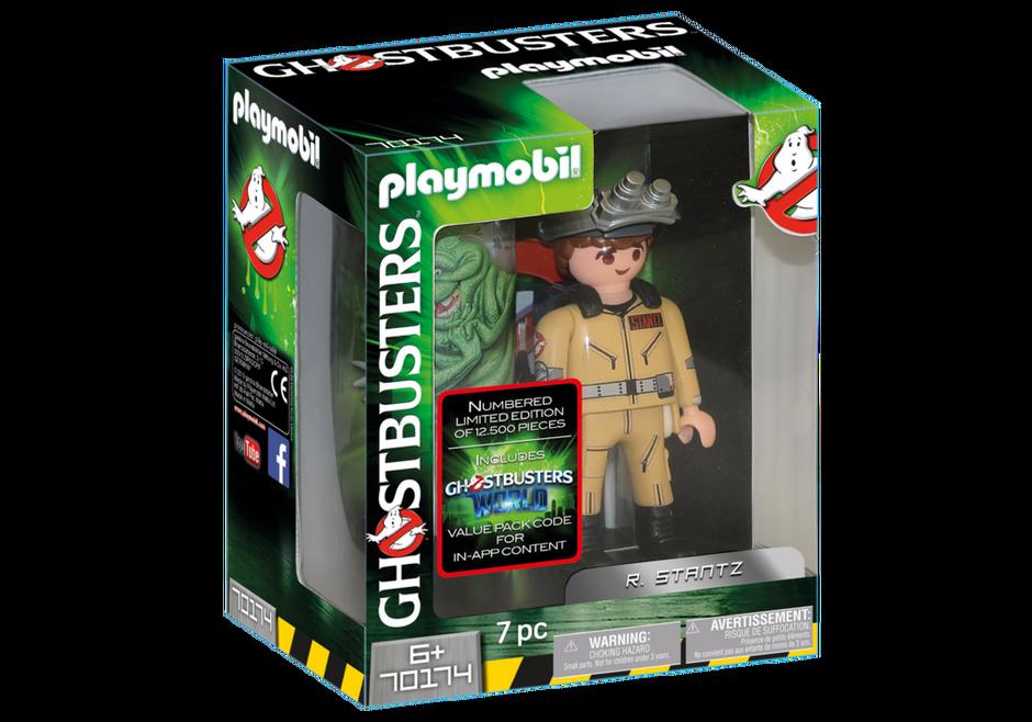 Playmobil 70174 - Ghostbusters™ Sammlerfigur R. Stantz - Box