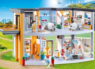 Playmobil - 70190 - Big hospital with furniture