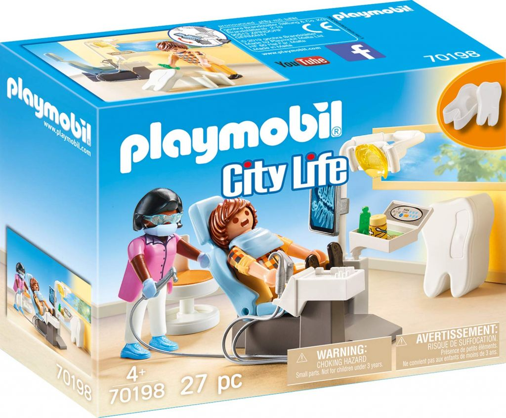 Playmobil 70198 - Dentist - Box