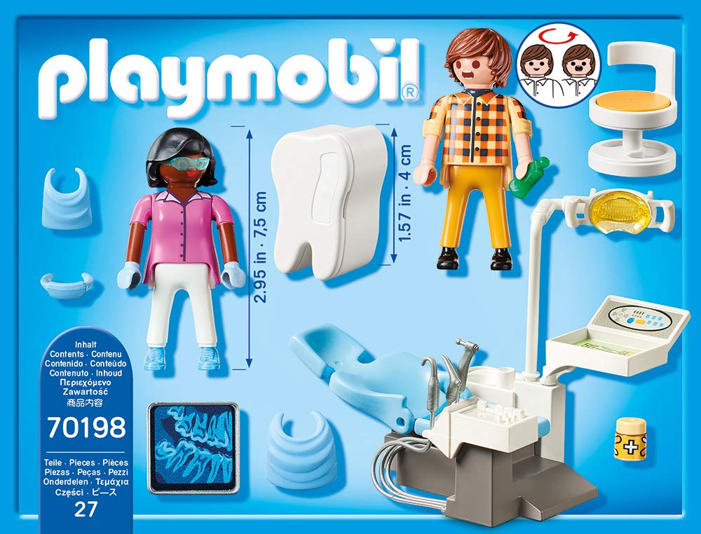 Playmobil 70198 - Dentist - Back