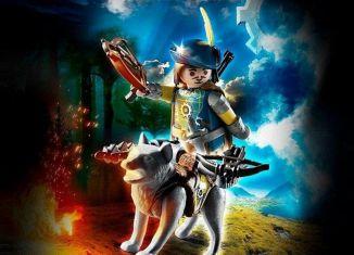 Playmobil - 70229 - Caballero con lobo
