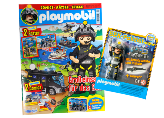 Playmobil - R036-30792034 - SWAT Agent