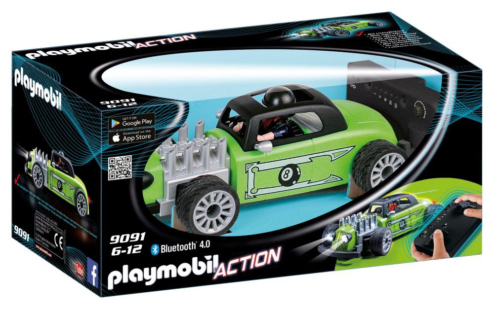 Playmobil 9091 - RC-Rock'n'Roll-Racer - Box