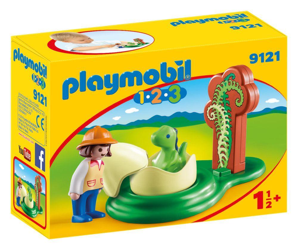 Playmobil 9121 - Girl with Dino Egg - Box