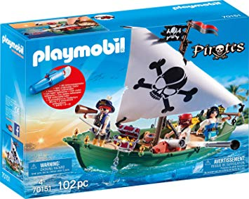 Playmobil 70151 - Piratenschiff - Box