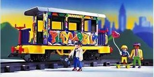Playmobil - 4118v1 - Graffiti Car