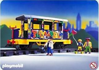 Playmobil - 4118v1 - Graffiti Car
