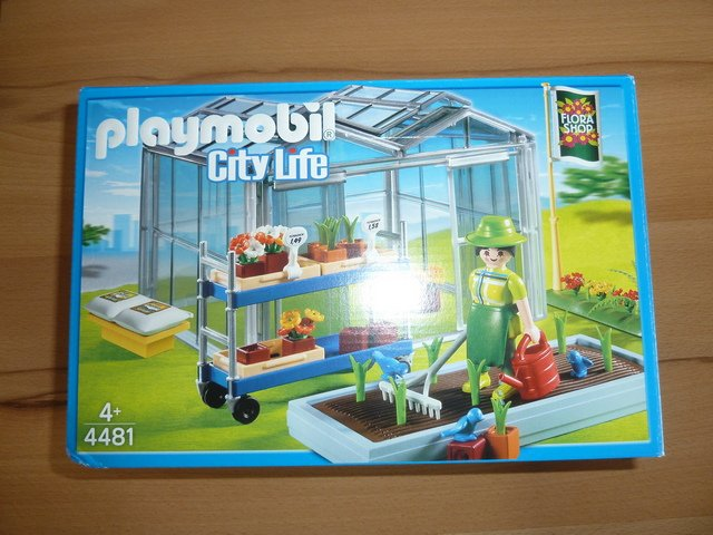Playmobil 4481 - Green House - Box