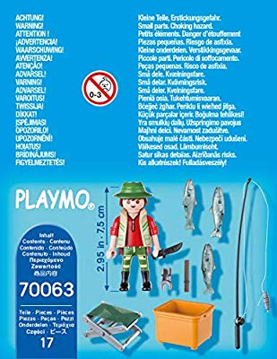 Playmobil 70063 - Fisherman - Back