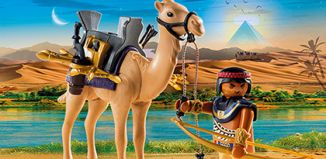 Playmobil - 5389 - Egyptian warrior with camel