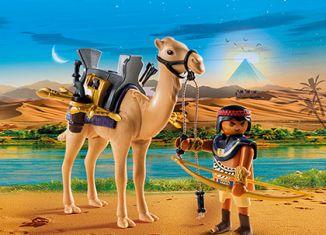 Playmobil - 5389 - Combattant égyptien avec dromadaire