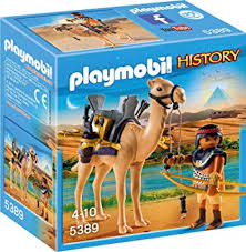 Playmobil 5389 - Egyptian warrior with camel - Box