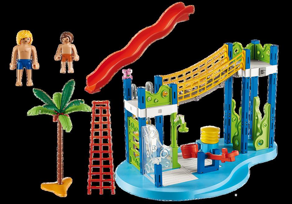 Playmobil 6670 - Wasserspielplatz - Back