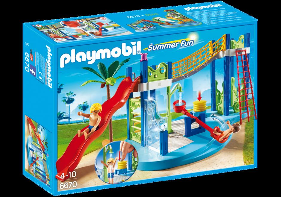 Playmobil 6670 - Wasserspielplatz - Box