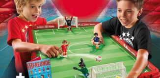 Playmobil - 70046 - Take Along FC Bayern Soccer Arena