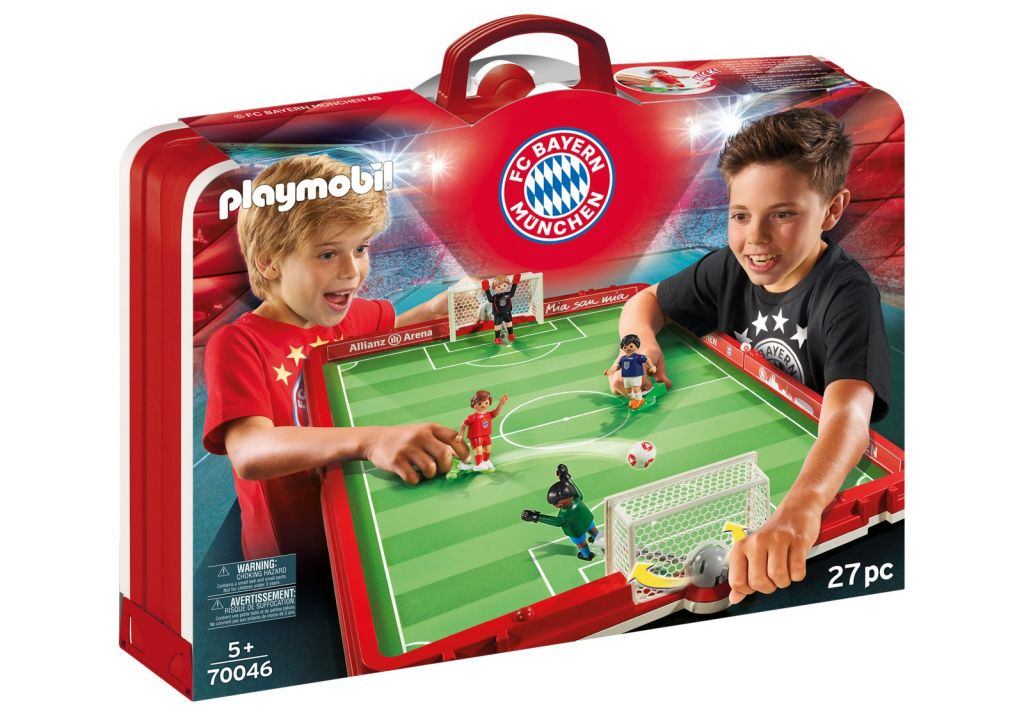 Playmobil 70046 - Take Along FC Bayern Soccer Arena - Box
