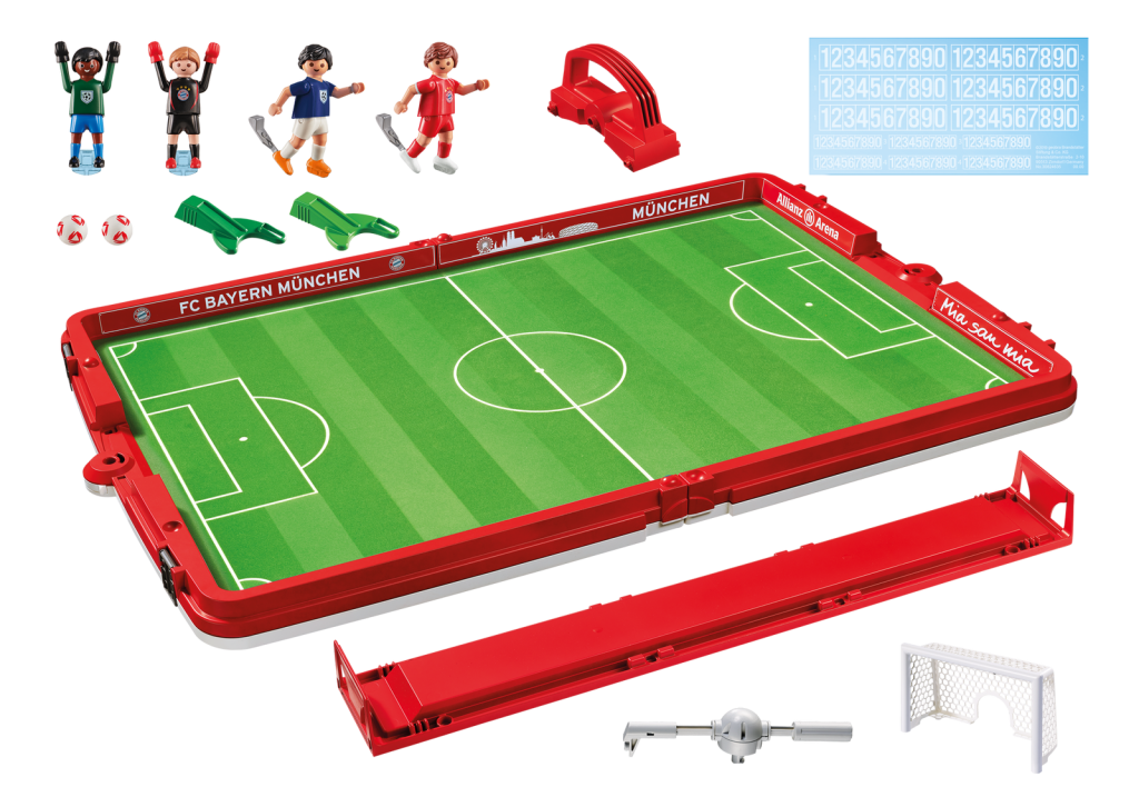 Playmobil 70046 - Take Along FC Bayern Soccer Arena - Back