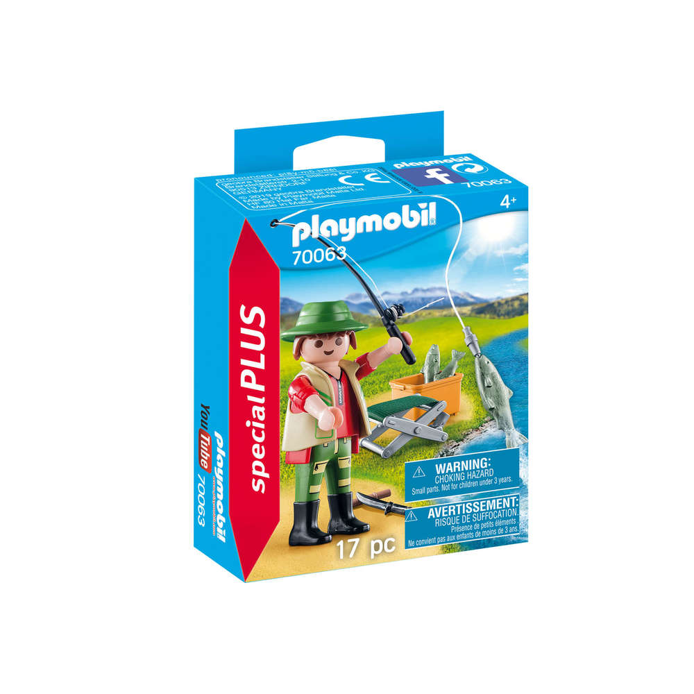 Playmobil 70063 - Fisherman - Box