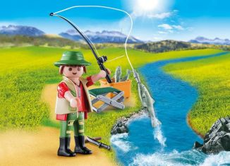 Playmobil - 70063 - Fisherman