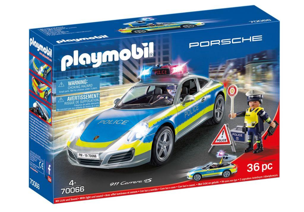 Playmobil 70066 - Porsche 911 Carrera 4S Police - Box