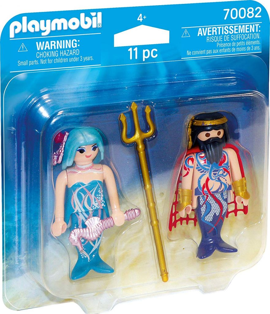 Playmobil 70082 - King of the Sea and Mermaid - Box