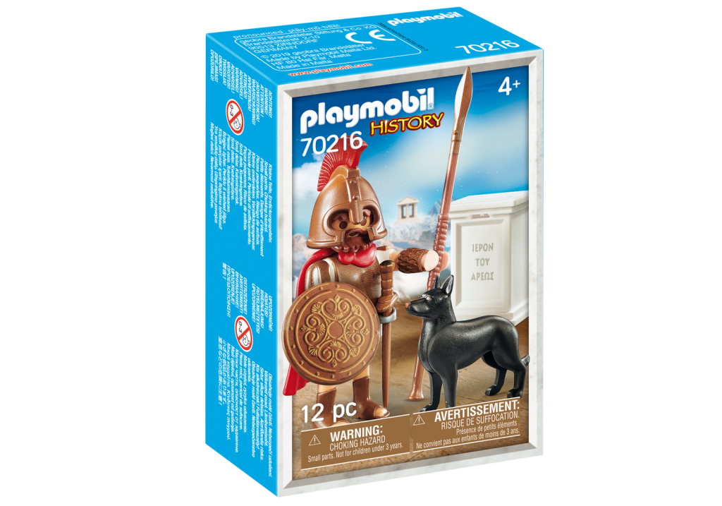 Playmobil 70216-gre - Aris Greek God - Box