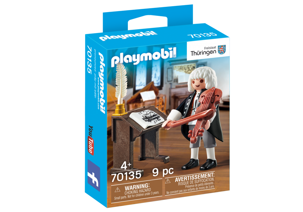 Playmobil 70135-ger - J.S. Bach - Box