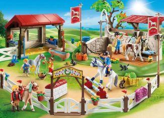 Playmobil - 70166-ger - Großer Reitparcours