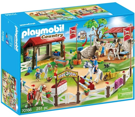 Playmobil 70166-ger - Großer Reitparcours - Box