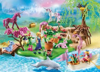 Playmobil - 70167-ger - Fairy Unicorn Island