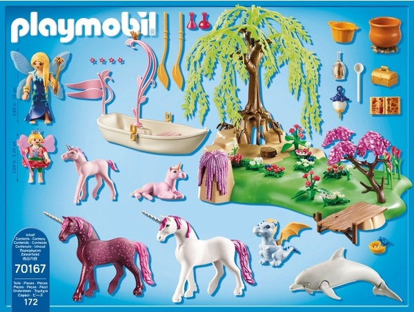 Playmobil 70167-ger - Fairy Unicorn Island - Back