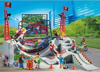 Playmobil - 70168-ger - Skaterpark